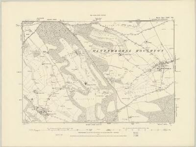 Dorset XXIII.SW - OS Six-Inch Map