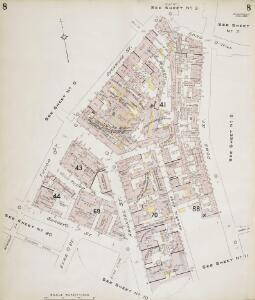 Insurance Plan of Sheffield (1896): sheet 8