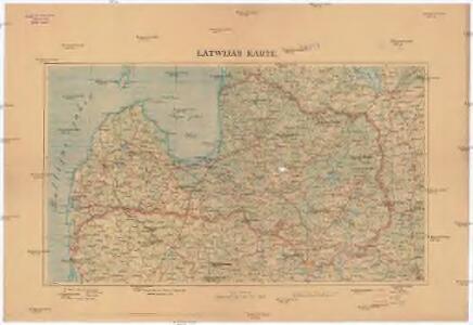 Latwijas Karte