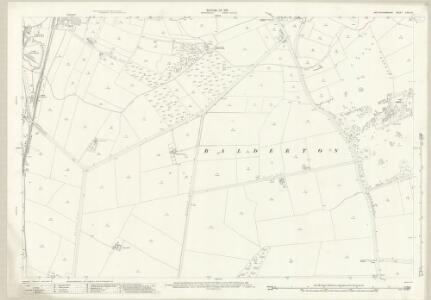 Nottinghamshire XXXV.12 (includes: Balderton) - 25 Inch Map