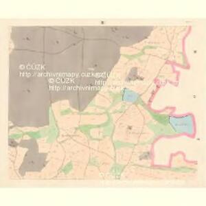 Hoschtitz (Hosstitz) - c7453-1-003 - Kaiserpflichtexemplar der Landkarten des stabilen Katasters