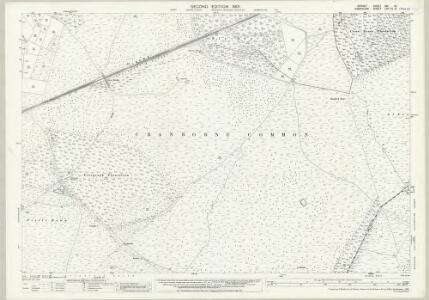 Dorset XVI.12 (includes: Alderholt; Edmondsham; Harbridge and Ibsley; Verwood) - 25 Inch Map