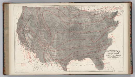 Climatological Map of the United States.
