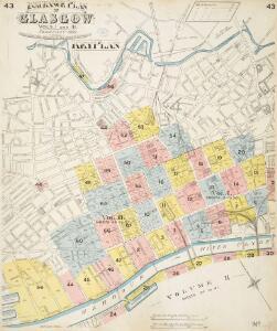 Insurance Plan of Glasgow Vols. I & II: Key Plan