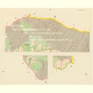 Nieder Kreibitz - c1298-1-001 - Kaiserpflichtexemplar der Landkarten des stabilen Katasters