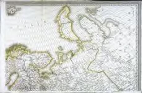 Carte d'Europe ou sont tracées les limites des empires, royaumes, et etats souverains, feuille 2