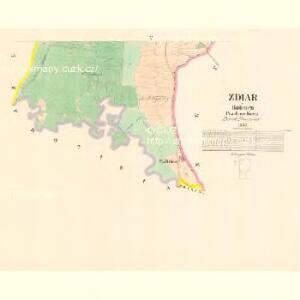 Zdiar - c9365-1-003 - Kaiserpflichtexemplar der Landkarten des stabilen Katasters