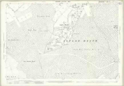Buckinghamshire XV.12 (includes: Aspley Heath; Bow Brickhill; Wavendon) - 25 Inch Map