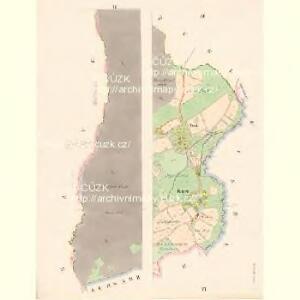 Bernstein - c6645-1-003 - Kaiserpflichtexemplar der Landkarten des stabilen Katasters