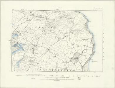 Anglesey III.SW - OS Six-Inch Map