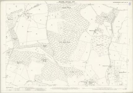 Buckinghamshire XLVIII.13 (includes: Beaconsfield; Burnham; Hedgerley) - 25 Inch Map