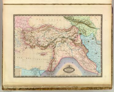 Turquie, Syrie, Liban, Caucase.