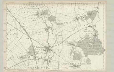Buckinghamshire XIV - OS Six-Inch Map