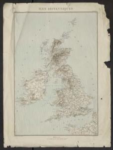 Géographie. croquis n12, Iles britanniques