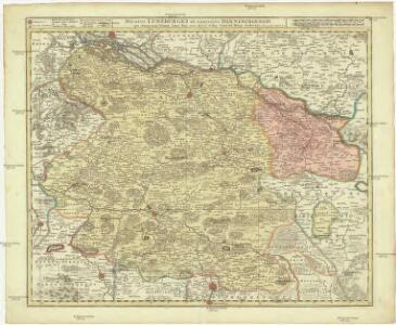 Ducatus Luneburgici et comitatus Dannenbergensis