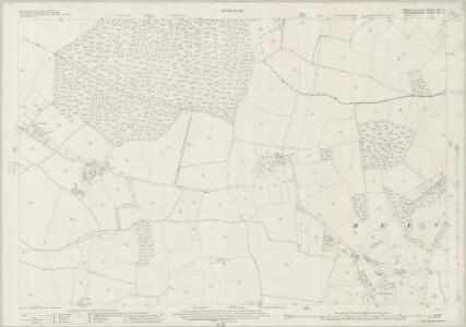 Essex (New Series 1913-) n XII.11 (includes: Anstey; Langley; Meesden; Nuthampstead) - 25 Inch Map
