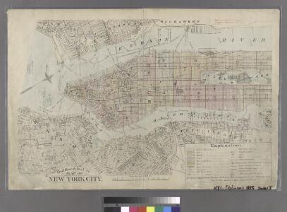 Outline & Index Map of New York City. Index I.