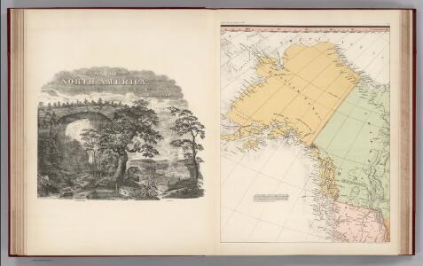 Facsimile:  Tanner's North America (portion).