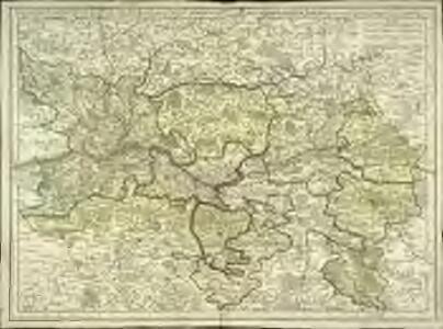 Carte particuliere d'Anjou et de Touraine ou de la partie meridionale de la généralité de Tours