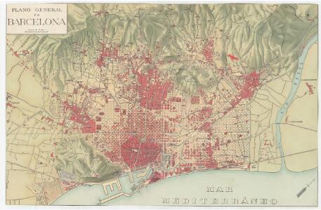 Plano general de Barcelona