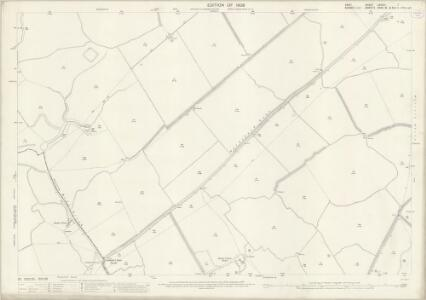 Kent LXXXIII.7 (includes: Brookland; Ivychurch) - 25 Inch Map
