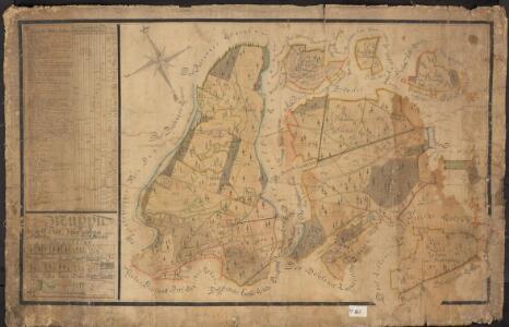 Mappa der zur k.k. Stadt Pilsener gehörigen Hradecker Waldrevier