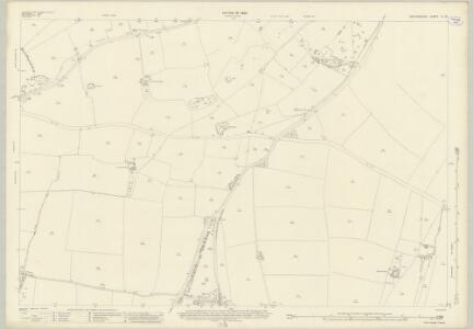 Oxfordshire V.16 (includes: Banbury; Bodicote; Broughton; North Newington) - 25 Inch Map
