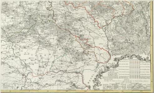 Kriegs Expeditions Karte von Devtschland