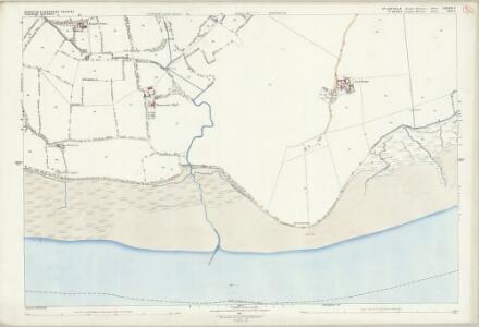 Suffolk LXXXIX.5 (includes: Erwarton; Harkstead; Ramsey) - 25 Inch Map