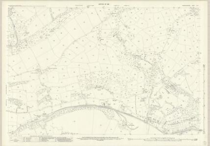 Carmarthenshire LVIII.1 (includes: Burryport; Pen Bre) - 25 Inch Map