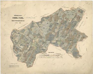 Porostní mapa lesního statku Ostrůvek