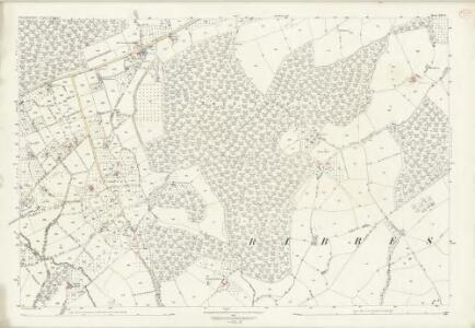 Worcestershire XIII.8 (includes: Bewdley; Ribbesford; Rock) - 25 Inch Map