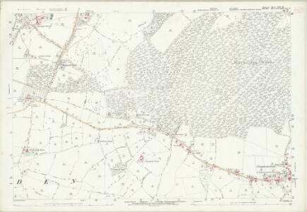 Somerset XXX.16 (includes: Berkley; Chapmanslade; Selwood) - 25 Inch Map