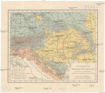 Florenkarte von Österreich-Ungarn