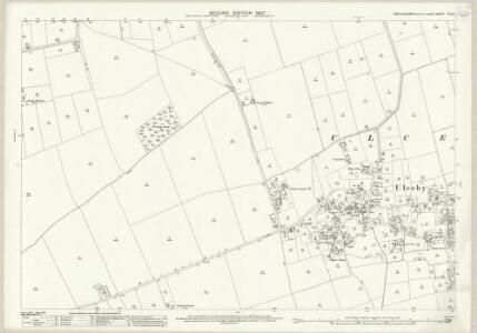 Lincolnshire XII.12 (includes: Ulceby; Wootton) - 25 Inch Map