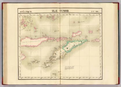 Ile Timor. Oceanique no. 28.