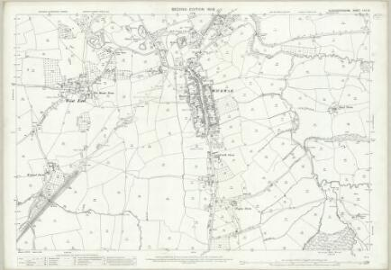 Gloucestershire LXIV.10 (includes: Hawkesbury; Horton; Kingswood; Wickwar; Yate) - 25 Inch Map