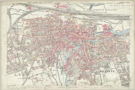 Berkshire XXXVII.3 (includes: Reading) - 25 Inch Map
