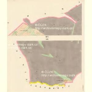 Jaroslawitz - c2775-1-007 - Kaiserpflichtexemplar der Landkarten des stabilen Katasters