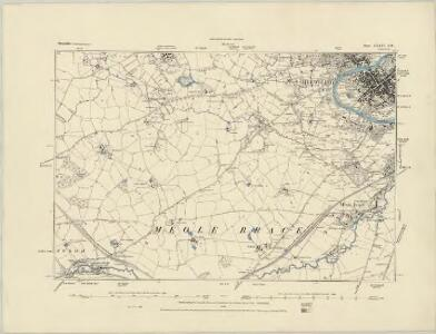 Shropshire XXVIII.NE - OS Six-Inch Map