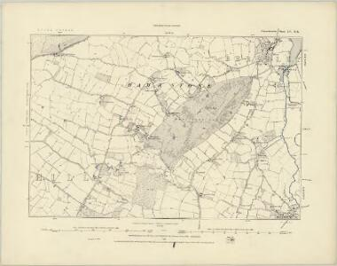 Gloucestershire LV.SW - OS Six-Inch Map
