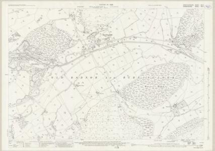 Herefordshire XVII.1 (includes: Burlingjobb And Old Radnor; Kington Rural) - 25 Inch Map