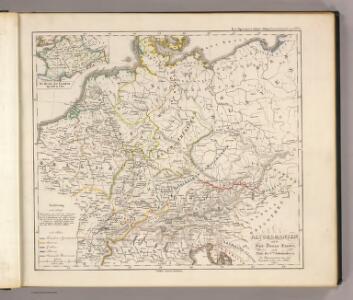 Altgermanien, Sud-Donau-Lander, Mitte des Vten jahrhundert's.