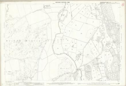 Westmorland XLI.12 (includes: Upper Allithwaite; Witherslack) - 25 Inch Map