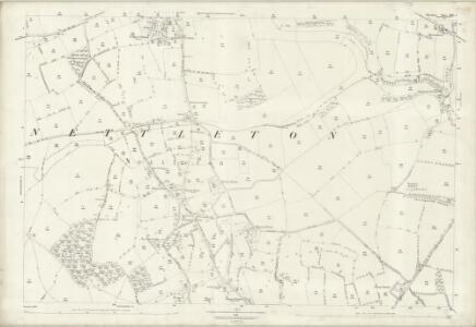 Wiltshire XIX.2 (includes: Grittleton; Nettleton) - 25 Inch Map