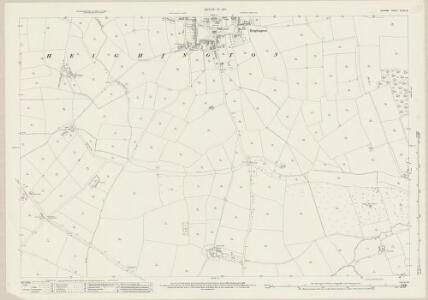 Durham XLVIII.8 (includes: Coatham Mundeville; Heighington; Walworth) - 25 Inch Map