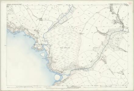 Cornwall LXXX.10 (includes: Cury; Gunwalloe; Mullion) - 25 Inch Map