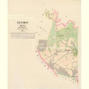 Regsko - c6420-1-001 - Kaiserpflichtexemplar der Landkarten des stabilen Katasters