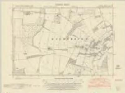 Norfolk LXXI.SW - OS Six-Inch Map