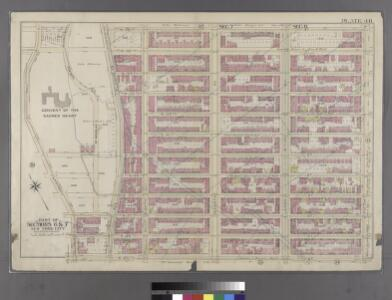 Plate 40: Bounded by W. 136th Street, Fifth Avenue, W. 125th Street, and Convent Avenue.